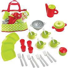 Набор посуды в сумке Ecoiffier 2640