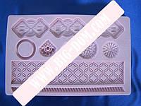 Молд конд.силикон. Орнамент 12,5*19,5*VT6-16864