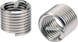 Вставки спиральные для ремонта резьбы; М12 х 1.75 х 16.3 мм, упак. 10 шт.