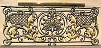 Кованые ограждения балконов, кованые балконы
