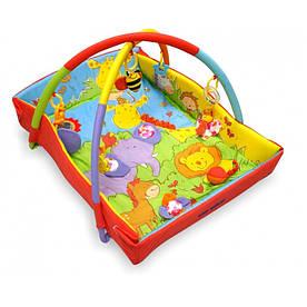 Детский игровой развивающий коврик Baby Mix TK/3261C Зоо