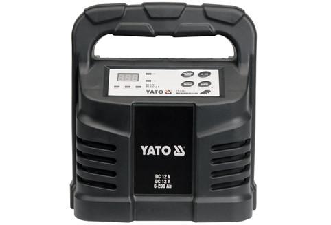 Зарядное устройство 12V, 12А, 6-200Ah - Yato