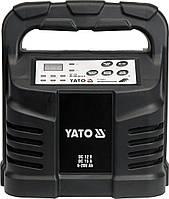 Зарядное устройство AGM, WET - 12V, 15А, 6-200Ah - Yato, фото 1