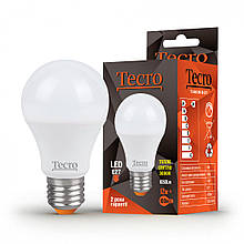 Лампа світлодіодна E27 12W 3000K A60 Tecro 1050 lm 220V TL-A60-12W-3K-E27