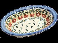 Блюдо овальное с ушками маленькое Crabapple, фото 1