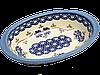 Блюдо овальное с ушками маленькое Larkspur