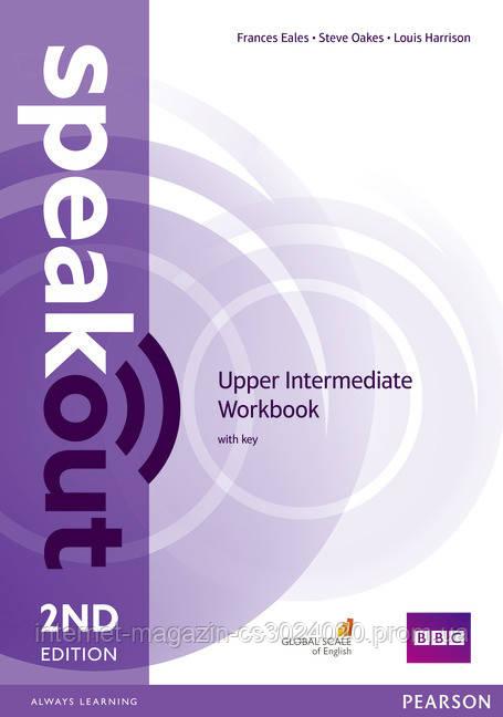 Speakout 2nd Edition Upper Intermediate Workbook with key ISBN: 9781447977186