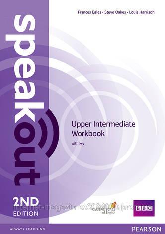 Speakout 2nd Edition Upper Intermediate Workbook with key ISBN: 9781447977186, фото 2