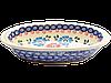 Блюдо овальное с ушками маленькое Anemones