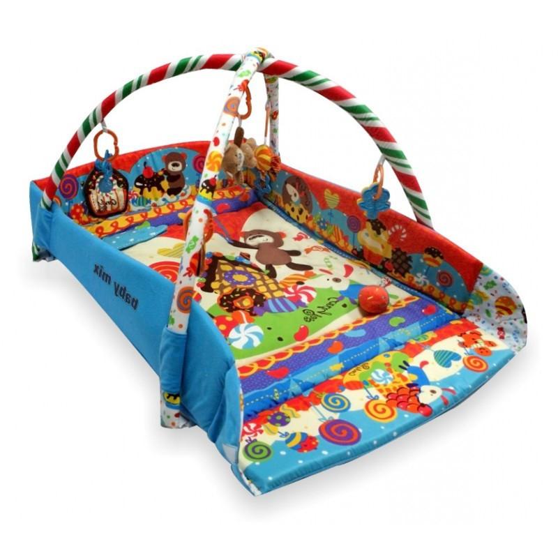 Детский игровой развивающий коврик Baby Mix TK/Q3261CE-4278 Страна сладостей