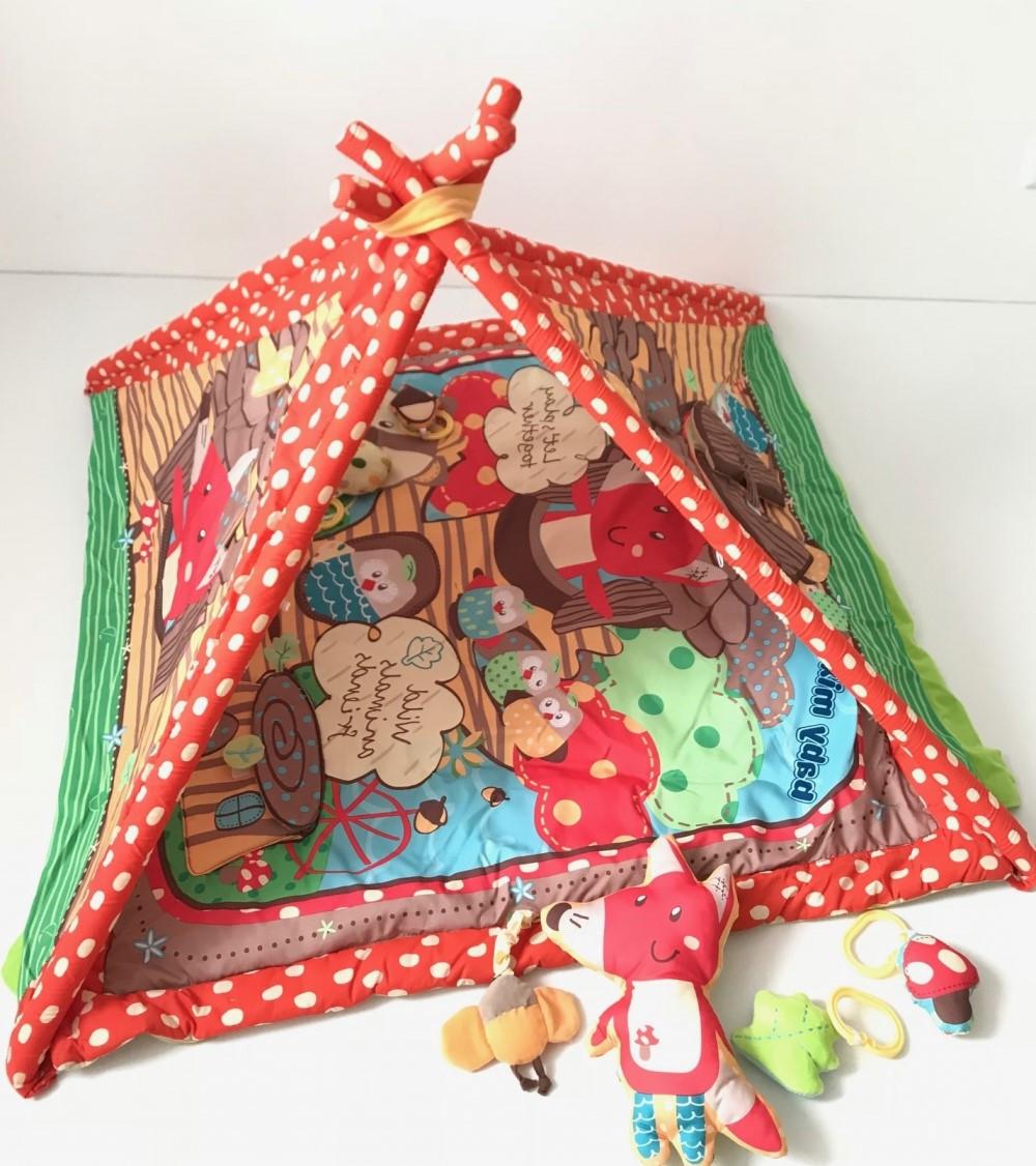 Детский игровой развивающий коврик Baby Mix Q3312CT-3773 Сказка