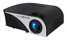 Проектор Tecro PJ-1020 LCD 1500:1 1200 lm 800x480 HDMI VGA USB AV