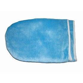 Варежки для парафинотерапии махровые, голубые