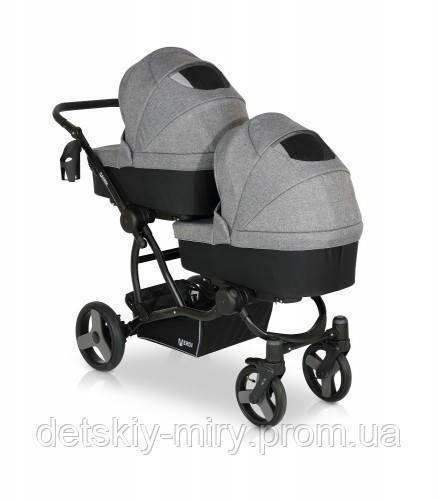 Детская универсальная коляска для двойни 2 в 1 Verdi For 2 - фото 4