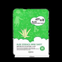 Тканевая маска для лица с экстрактом алоэ ESFOLIO Pure Skin Aloe Essence Mask Sheet