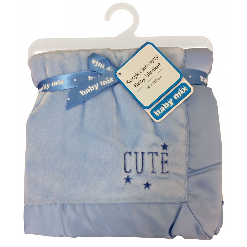 Плед Baby Mix SH-45551CL Blue