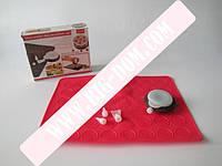 Набор кондит.силик.для выпечки Macarons VT6-17866