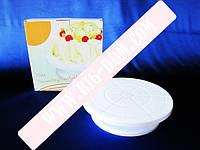 Стойка пластм для торта вращающ 28см VT6-18775
