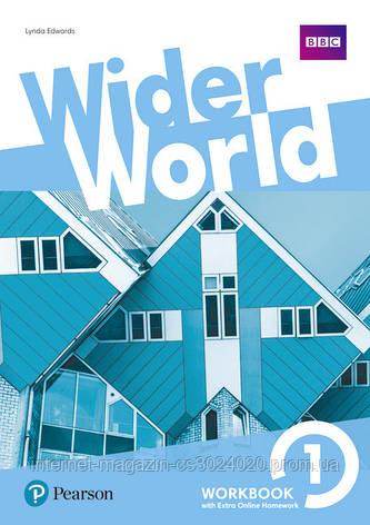 Wider World 1 Workbook with Online Homework Pack ISBN: 9781292178684, фото 2