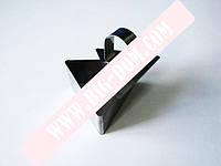 Форма нерж.для гарнира с выталкивателем треугольная 4см VT6-18769