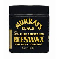 Натуральный воск для укладки волос MURRAY'S Black Beeswax, 114 мл