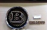 Эмблема решетки радиатора Brabus на Mercedes G-Сlass, фото 2