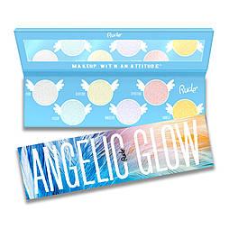 Палетка хайлайтеров и теней RUDE Angelic Glow Highlighter + Eyeshadow