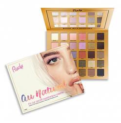Палетка теней для глаз RUDE Au Naturel — 30 Eyeshadow Palette