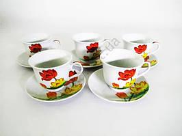 Сервиз чайный Тюльпаны керамика