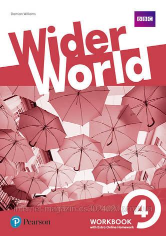 Wider World 4 Workbook with Online Homework Pack ISBN: 9781292178806, фото 2
