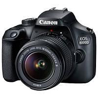 Зеркальный фотоаппарат Canon EOS 4000D 18-55 DC III