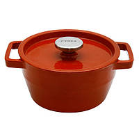 Кастрюля чугунная Slow Cook red круглая 2.2л 20см PYREX SC5AC20