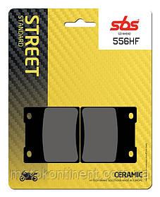 Мото колодки SBS 556HF керамика SUZUKI GSX-R/SUZUKI GSX/SUZUKI GSF/KAWASAKI ZX/ ZXR/ZZR аналог FDB338