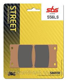 Мото колодки SBS 556LS задняя синтетика SUZUKI GSX-R/SUZUKI GSX/SUZUKI GSF/KAWASAKI ZX/ ZXR/ZZR аналог FDB338