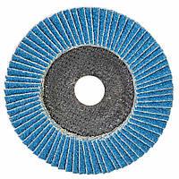 Круг лепестковый торцевой Т29 (конический) ZA Ø125мм P40 Sigma (9173521), фото 1