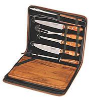 Кухонный набор Barbecue 8предметов нержавеющая сталь, папка TRAMONTINA 21198/465