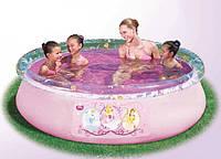 Бассейн с надувным бортом BestWay 91052 Fast Set, серия Disney Princess, 244 х 66 см.киев, фото 1