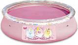 Басейн з надувним бортом BestWay 91052 Fast Set, серія Disney Princess, 244 х 66 див. київ, фото 3