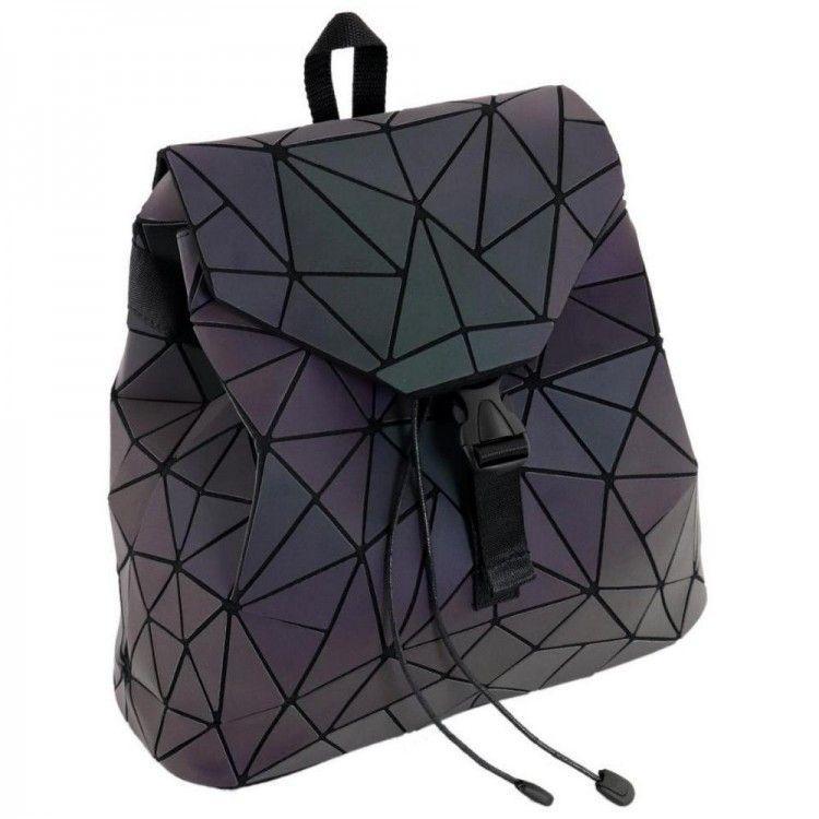 3d19bf3de877 Переливающийся рюкзак со шнурком и клапаном Traum арт. 7235-08 - Bigl.ua