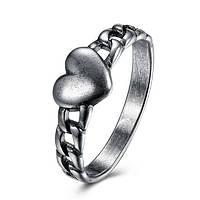 Кольцо Everiot RA-XP-13701 в форме цепи с сердцем