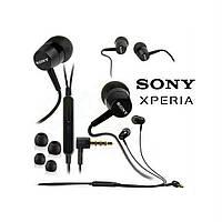 Наушники гарнитура Sony MH750 вакуумные 3.5mm.