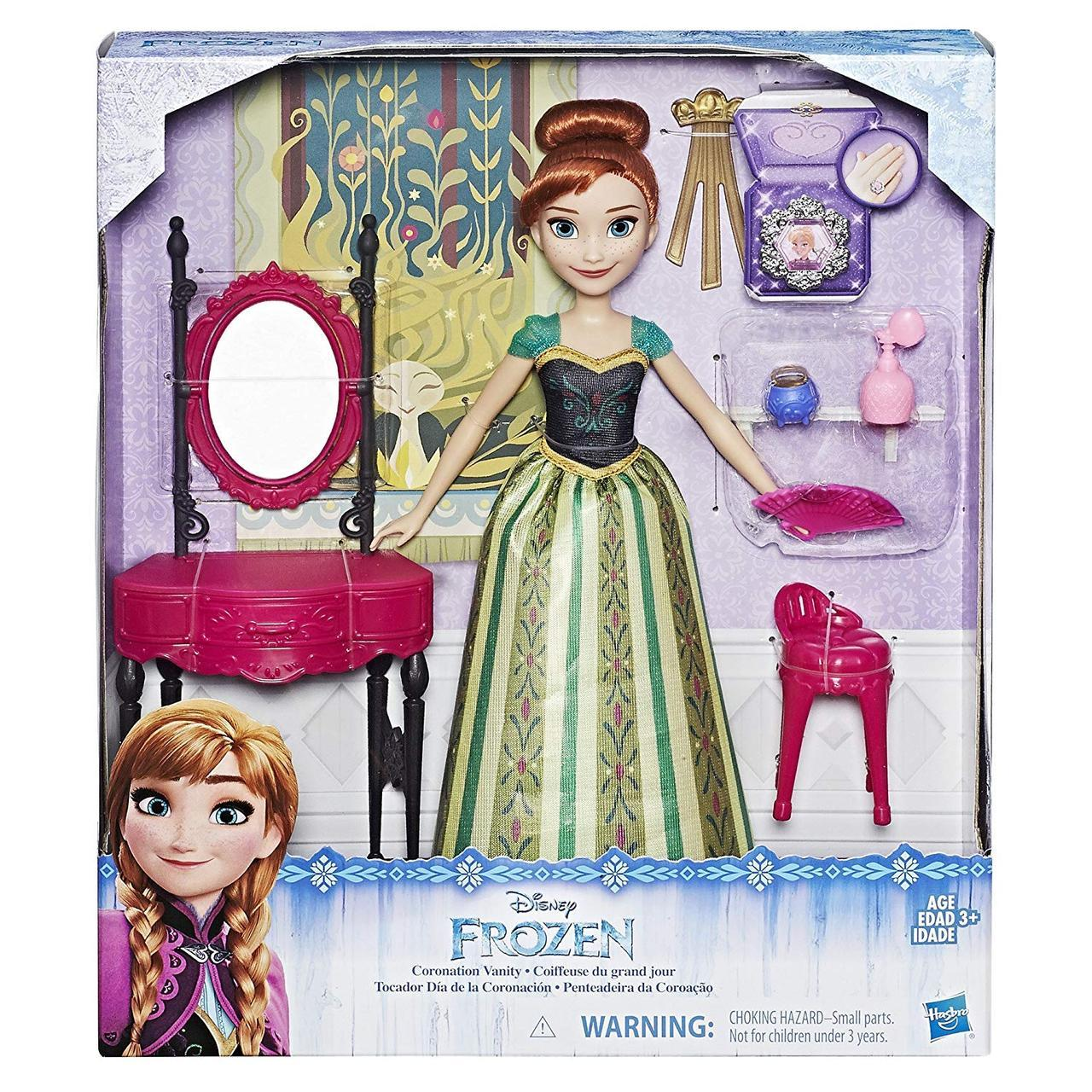 Кукла Анна с туалетным столиком Disney Frozen Anna and Coronation Vanity