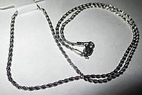 "Цепочка  серебристая ""Косичка"" от студии LadyStyle.Biz, фото 1"