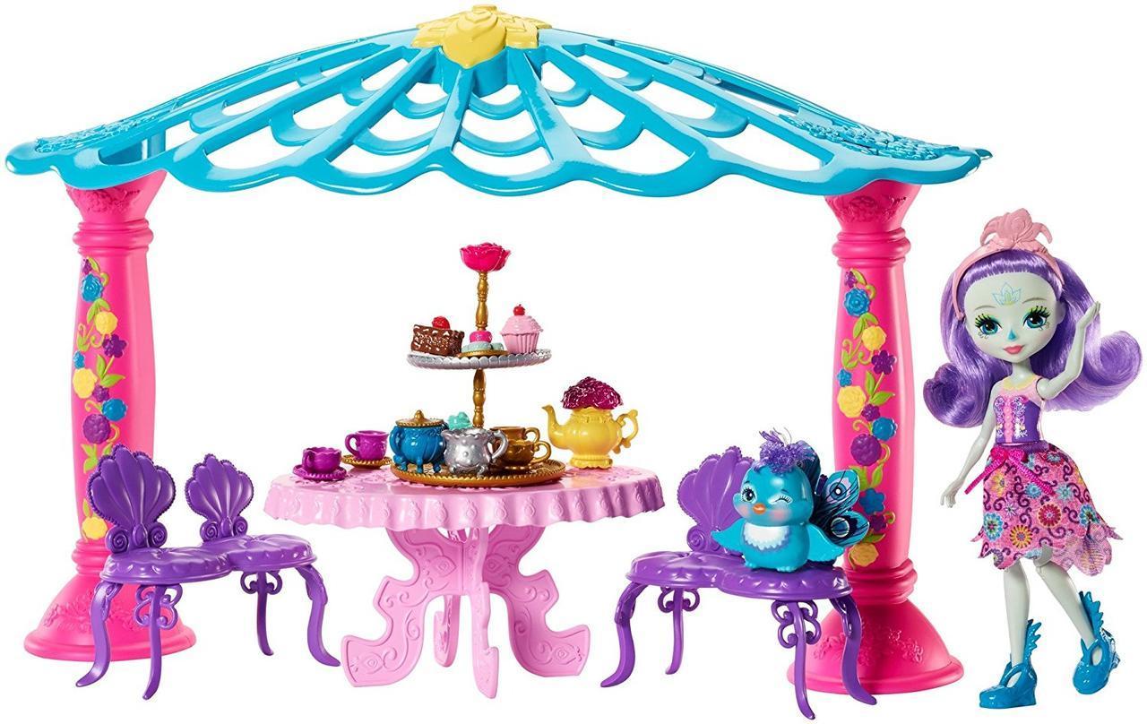 Игровой набор Энчантималс Садовая Беседка  Петтер и Флэпа - Enchantimals Patter Peacock Garden Gazebo
