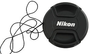 Dilux - Nikon LC-58 крышка для объектива, диаметр - 58мм, со шнурком