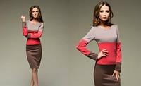 Стильное платье -Полоска