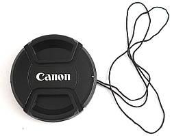 Dilux - Canon кришка для об'єктива, діаметр - 52мм, зі шнурком