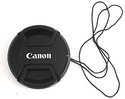 Dilux - Canon кришка для об'єктива, діаметр - 58мм, зі шнурком