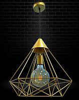 Светильник подвесной в стиле лофт NL 0541 G MSK Electric