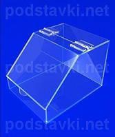 Торговый диспенсер Бокс для конфет, акрил 3, габариты (ШхВхГ) 180х150х220 мм (PR-109)